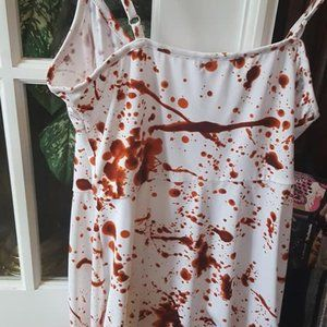 Blood Splatter Halloween Hot Topic Dress